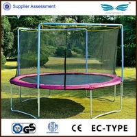 Sale cheap children outdoor pink 18 ft round trampoline