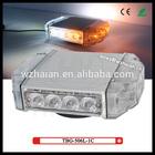 TBG-506L-1C Super mini car strobe lights headlight in amber and white LEDs