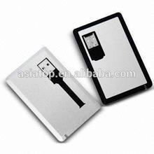 low price business card 2gb 4gb 8gb usb flash memory