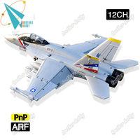 F-18 Jolly Roger 12CH Electric EPO foam rc edf jet