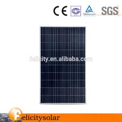 Best PV supplier 250watt sunpower solar panels for home system