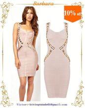 Hot Selling beautiful mature women bandage dress Hot Seller !