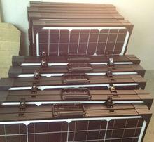 100w folding solar panel, 100watt portable solar panel, foldable solar panel