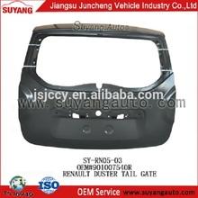 Renault Duster Car Tail Gate Body Kit Manufacturer