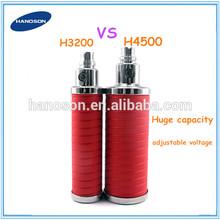 China golden supplier adjustable voltage ego battery vaporizer. biggest ego battery 4500mah. twisting battery variable ego twist