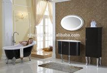 bathroom vanity mirrored side storage