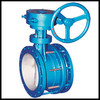 WCB Stainless Steel Expansion Joint Butterfly Valve DN300
