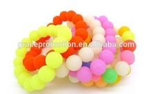 Famous Friendship Colour / Debossed Colour Promotional Customized Silicone Bracelet