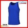 Men dry fit running vest, sports singlets
