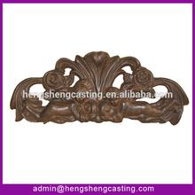 Cast iron angel & rose pendant/ornaments wholesales