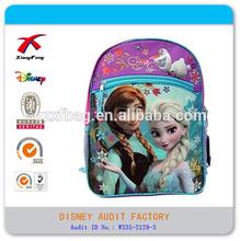 Latest Lovely Fashion Cartoon Frozen School Bag For Little Girls