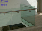 stainless steel tube handrail / outdoor banisters and railing