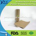 venta caliente baratos de envoltura de papel de aluminio de papel con la impresión de rollos