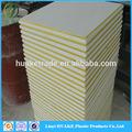 Made in china False sospeso mattonelle del soffitto perforato/pannello/cartongesso fibra di vetro bordo 600*600