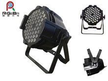 2014 Hot selling RGBA 3W54 Leds Outdoor Par Can,waterproof led par can lights