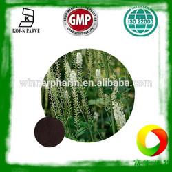 High quality Black Cohosh Extract powder / 2.5%/5%/10% Triterpenoid saponins