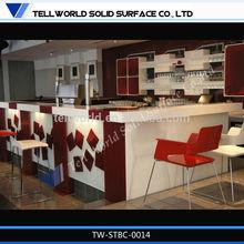 artificial stone furniture regular shape furniture bar counter