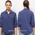 escritório mulheres manga comprida blusa de cetim modelos de uniformes
