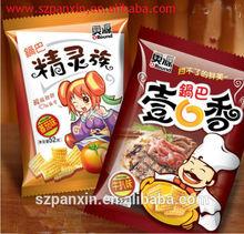 Laminated Food Packaging Nylon Bag for banana chips