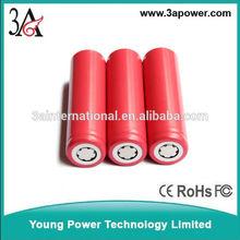 Sanyo White 18650AY 2250mah 3.7v lithium battery for medical equipment