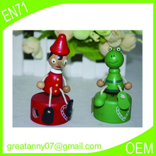 OEM small wooden cartoon multi color wooden gifts useful Children study article wholesale