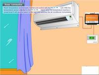 temperature data logger gsm sms alarm system air conditioner remote control