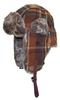 Women's Rex Rabbit Fur Hats Winter Ear Cap Flexible Multicolor