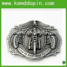 Handmade Hamre design zinc alloy die cast custom metal belt buckle