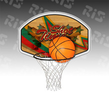 NBA Game On Indoor Basketball Hoop & Ball Set