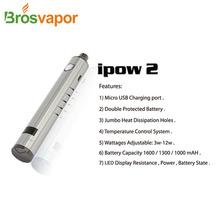 2014 Authentic Kanger Ipow 2 rechargeable battery 1000mAh 1300mAh 1600mAh