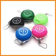 Five Colors Cute Portable Mini Subwoofer Handsfree Stereo Speaker for Smart Phones