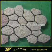 U. Y stein sechseck pflastersteine