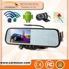 2014 ANDROID /Wifi/Navigation/BT/Back Camera Car DVR motorcycle helmet rear view mirror