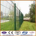 Recinzione vinile marrone scuro/saldati recinzione pannello di rete metallica/usato scherma