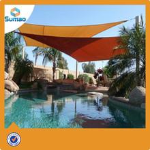 alibaba express Shade Sail Canopy 18' Tan Oversize Square Sun Shade Patio Yard Cover UV New