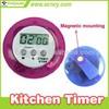 Magnet digital alarming sound cheap small kitchen timer