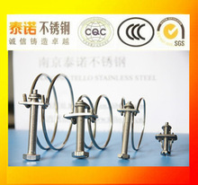 double wire hose clamp machine