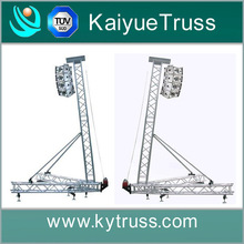 concert stage speaker tower, PA truss system