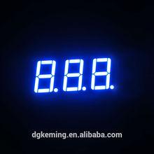 Ultra blue led signage model 5361as display 3 digits 7 segment led