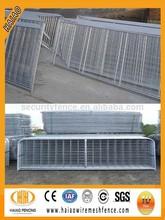 China supplier hot dip galvanized welded wire mesh farm steel gates design(factory)
