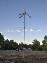small hawt permanent magnet motor wind generator 24v dc 2kw, 3kw