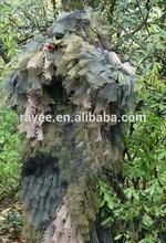Nieve Camo Ghillie Suit / kamuflaj keskin nisanci Ghillie takim elbise, Camuflagem neta