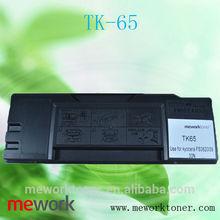 Virgin empty toner cartridge for Kyocera TK65