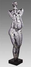 Metal steel figure sculpture