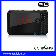720P Video recording Hidden Camera T9 Clock DVR H.264 WiFi IP Camera