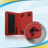 Guangzhou factory for ipad mini pu bluetooth keyboard cover case