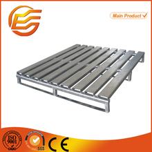 single side storage stacking metal pallet cage
