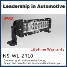 China High Power CREE 60W Dual Row CREE LED light Bar 4x4 off road LED light bar
