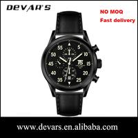 2014 Newest arrival devars chronograph geneva brand watches price No MOQ