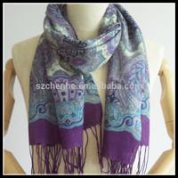 100% silk islamic scarves for women